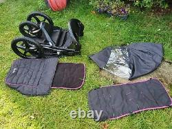 All terrain Single Running Jogging Pushchair Buggy Stroller with extras