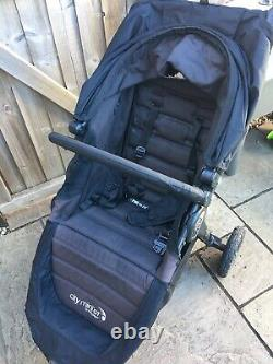 Baby Jogger City Mini GT Pushchair Single Stroller & Parent Console & Belly Bar