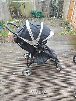 Baby Jogger City Mini GT Sand/Stone Pushchairs Single Seat Stroller
