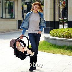 Baby Pram Buggy Newborn 3 in1 Travel System Car Seat Stroller Pushchair Carrycot
