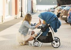 Baby Three Wheeler Pushchair Kids Stroller Buggy Foldable Compact LIV Lionelo