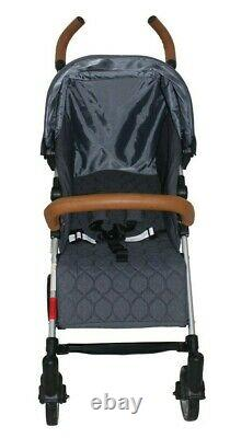 Babyco Buggy Stroller Pushchair- Sigma withFootmuff, Changing Bag, Raincover-Grey