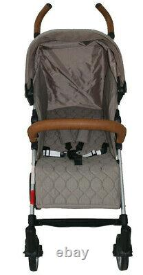 Babyco Buggy Stroller Pushchair- Sigma with Footmuff, Changing Bag, Raincover