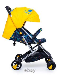 Cosatto Stroller Woosh 2 Sea Monsters Lightweight Compact Foldable Pushchair