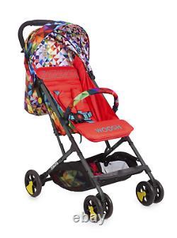 Cosatto Stroller Woosh 2 Spectroluxe Lightweight Compact Foldable Pushchair