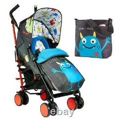 Cosatto Supa 2 Pushchair Stroller Monster Mob 2 Brand New Boxed