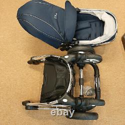 EX DISPLAY Egg Stroller / Pushchair And Carrycot Deep Navy