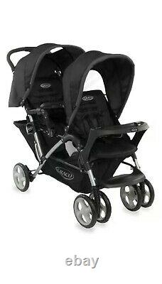 Graco Stadium Duo Tandem Twin Pushchairs Double Seat Stroller