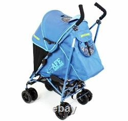 ISafe buggy Stroller Pushchair Adventurer Complete With Footmuff, Changing Ba