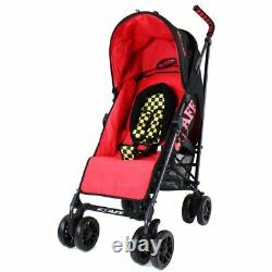 ISafe buggy Stroller Pushchair Racer. Complete With Footmuff, Changing Bag etc