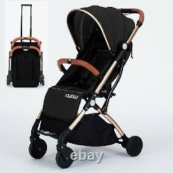 Lejoux Baby Pram Pushchair Stroller With Trolley Pull Childrens Buggy