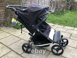 Mountain Buggy Duet Pushchair Double Seat Stroller