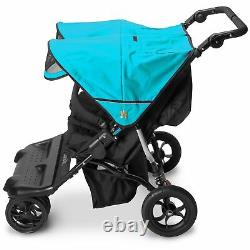 Out N About Little Nipper Double Buggy Pushchair Stroller Marine Blue