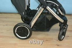 Oyster Max 2 Double Pushchair, Stroller 2018 Black