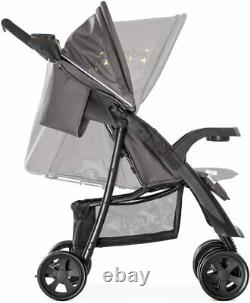 Pushchair Pram Buggy Stroller For Baby Toddler With Rain Cover Cup Holder (25Kg)