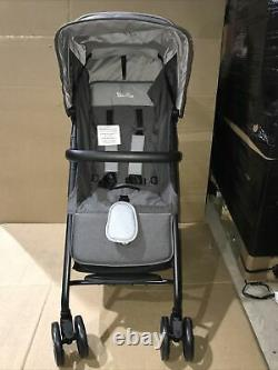 Silver Cross Avia Stroller, Lightweight and Cabin Approved Pushchair Galaxy