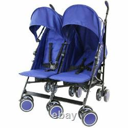 Twin Double Stroller Buggy Pushchair Zeta Citi Twin X5 Colors & Free Raincover