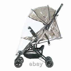 Ultra Light Weight Airplane Cabin Travel Stroller Roma Capsule 2 Pushchair Tweed